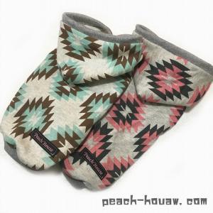 キリム柄パーカー|peach-house2