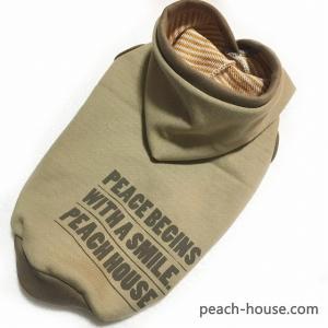 ベージュパーカー|peach-house2