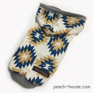 キリム柄パーカー BLUE|peach-house2