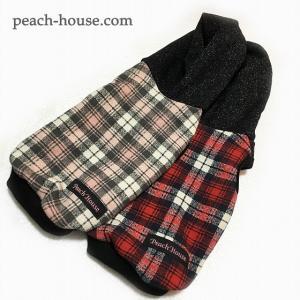 CHECK&BLACKパーカー|peach-house2
