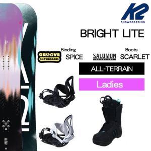 【スノーボード3点セット】2018 K2 BRIGHT LI...