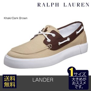 POLO RALPH LAUREN (ポロラルフローレン) ランダー LANDER Khaki/Da...