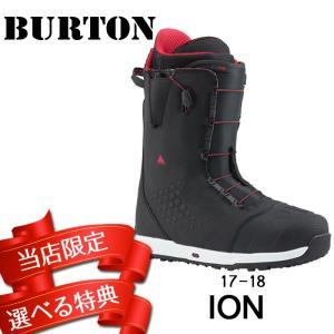 17-18 BURTON ION [Black/Red] アイオン バートン