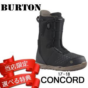 17-18 BURTON CONCORD [Black] コンコード バートン