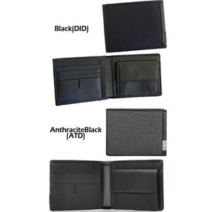 cc293441f343 TUMI GBL WALLET W/COIN POCKET【119237】[Anthracite/Black][Black ...