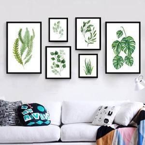 6枚1セット アートパネル 枠付きフレーム絵画 ...の商品画像