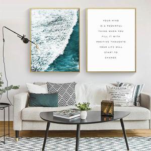 サイズ・デザイン選択可能 アートパネル フレーム絵画 海 波 、 インテリア絵画 ウォールデコ|peachy