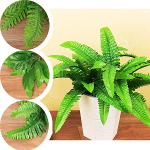 1束 ハワイアン 南国 観葉植物 ボストンファーン ポトス フェイクグリーン スワッグ イミテーション ディスプレイ|peachy