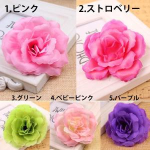 【5個以上送料無料】 ローズヘッド 薔薇 フェ...の詳細画像2