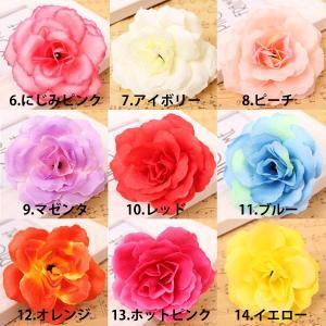 【5個以上送料無料】 ローズヘッド 薔薇 フェ...の詳細画像3