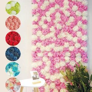 フラワーウォール 花壁 フラワーパネル 空間演出 ダリア ピンポンマム 薔薇 ウェディング ディスプレイ 壁掛け アーティフィシャルフラワー 造花|peachy