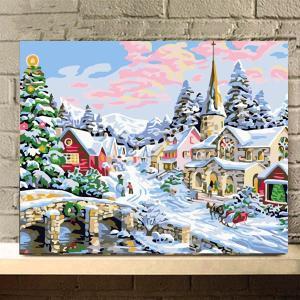 大人も子供も楽しめる数字塗り絵です! 数字と同じ番号の絵具で塗っていくと、プロが描いたような絵画に仕...