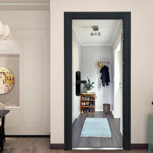 ドア用のだまし絵ステッカーです。 全部貼るとまるでドアの奥にまだ部屋がある様な錯覚になります。 さみ...