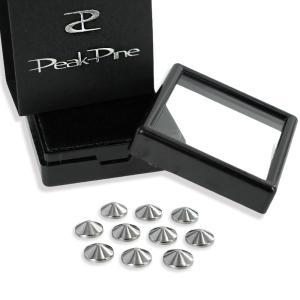 公式 直営ショップ ゲルマニウム 7.2ミリ ヤマ型 10粒 日本製 ピークパイン 高千穂金属 プレゼント ギフト|peakpine-shop
