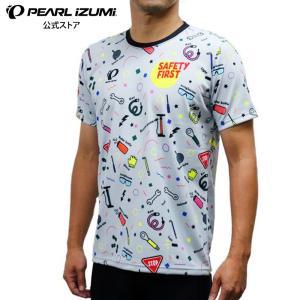 【予約商品・10月初旬発送予定】セーフティーファースト Tシャツ グレー|pearlizumi-original