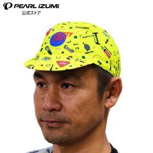 【予約商品・10月初旬発送予定】セーフティーファースト キャップ 蛍光イエロー|pearlizumi-original
