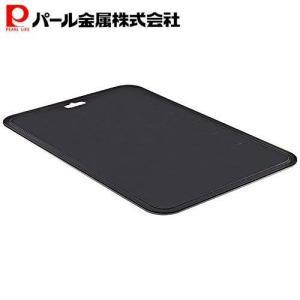 日本製 抗菌 まな板 大 黒 備長炭入り 食洗機対応 C-350 パール金属
