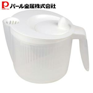日本製 サラダ スピナー 野菜 水切り 器 グリップ式 ENJOY KITCHEN C-4698 パ...