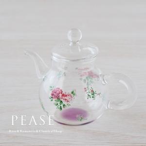 上品な薔薇柄が素敵なテーブルポットです  おしょう油やソースなどの調味料やクリーマーとしても使える便...