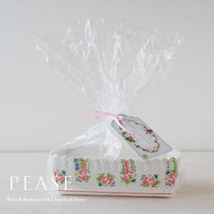 薔薇雑貨 Talking Tables ベーキングカップ 長方形 ケーキ型 6枚入り   姫系雑貨 明日つく|pease