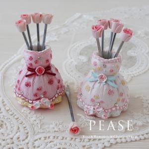 フルーツピックセット ローズフルーツピック 薔薇雑貨姫系雑貨 明日つく pease