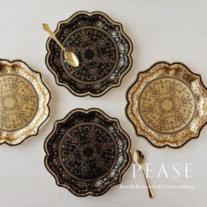 イギリスTalking Tablesブランドのおしゃれな紙皿です エレガントな装飾模様がテーブルを華...