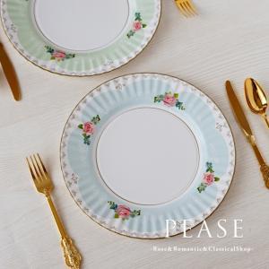紙皿 8枚セット薔薇雑貨 Talking Tables ローズ 使い捨て食器 かわいい おしゃれ バラ雑貨姫系雑貨 明日つく|pease