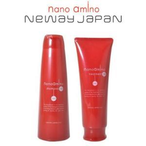 ニューウェイジャパン ニューウェイジャパン ナノアミノ DR シャンプー 250mlトリートメント 250gセット|pechka