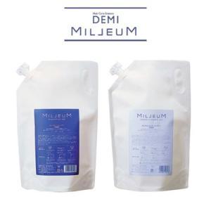 デミ DEMI ミレアムシャンプー/コンディショナー 1800ml詰替用 セット