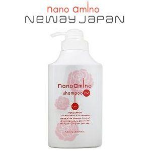 ニューウェイジャパン ナノアミノ ローズシャボンの香りシリーズ シャンプー RM-RO 1000mlポンプ pechka