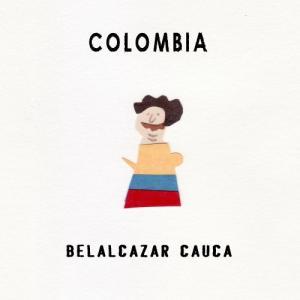 CAFE L'ETOILE DE MERコーヒー豆コロンビア ベラルカザール カウカ BELALCAZAR CAUCA 100g|pechka