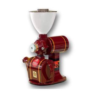 送料無料コーヒーミル R-440 カット臼 赤|pechka