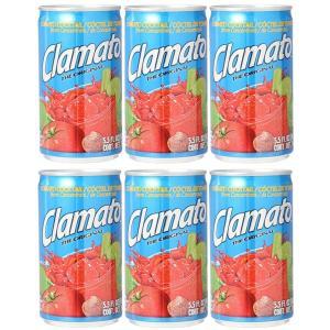 Clamato クラマト トマトカクテル (ジュース)163ml x 6本セット|pechka