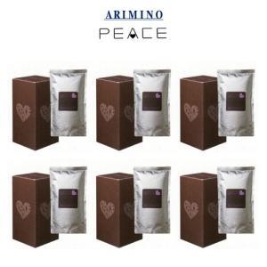 アリミノ ピース カールミルク 詰め替え用 リフィル200ml×3袋入り 6箱セット 送料無料|pechka