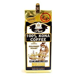 MULVADI 100% KONA COFFEE マルバディ コナ コーヒー ハワイ (粉) 198g|pechka