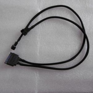 SATA 3pinファン 変換ケーブル 30cm 2ポート pecolife