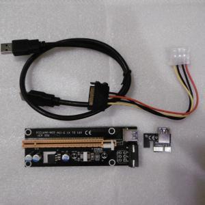 PCI USB3.0 ライザーカード マイニング pecolife