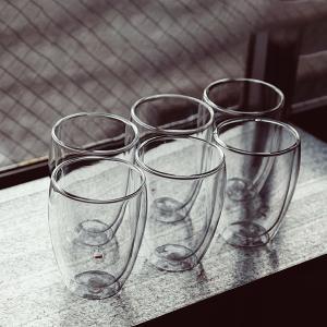 ボダム グラス ダブルウォールグラス パヴィーナ 6個セット 350mL タンブラー 保温 4559-10-12US bodum ビール
