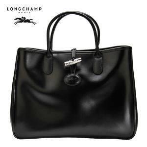 ロンシャン バッグ ロゾ トートバッグ ブラック 1681 051 001 ハンドバッグ ファッション LONGCHAMP|peeweebaby-gulliver