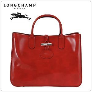 ロンシャン LONGCHAMP ロゾ ボックスショッピングバッグ Roseau Box Shopping Bag テラコッタ Terracotta 1986802213|peeweebaby-gulliver