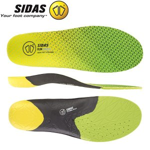 シダス Sidas インソール ラン 3D センス 立体形状 中敷き 軽量 ランニング 315498...