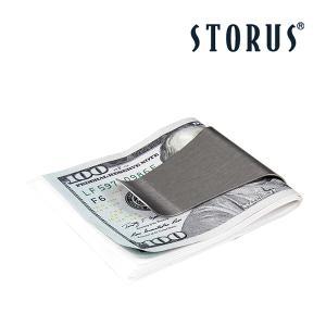 ストラス スマートマネークリップ 両面 ステンレス 00001-4 紙幣収納 財布