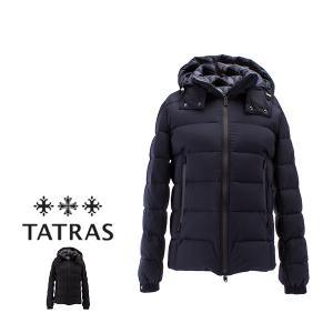タトラス TATRAS メンズ ダウンジャケット Borbore ボルボレ MTA18A4369 Quilts Borbore Basic 高品質 ショート丈 ダウン スリム ジャケット 保温 機能性|peeweebaby-gulliver