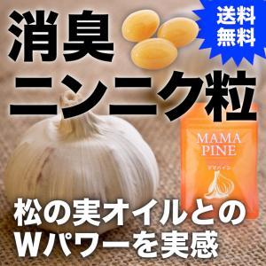 消臭ニンニク&松の実オイル『ママパイン』90粒|pejapan