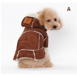 送料無料 ペット服 ペット用品 ペット 着物 かぶり もの 犬服 ドッグウェア ペットウェア 冬 防寒着|pekaboo|02