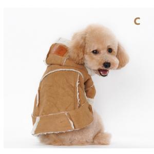 送料無料 ペット服 ペット用品 ペット 着物 かぶり もの 犬服 ドッグウェア ペットウェア 冬 防寒着|pekaboo|04