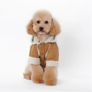 送料無料 ペット服 ペット用品 ペット 着物 かぶり もの 犬服 ドッグウェア ペットウェア 冬 防寒着|pekaboo|05