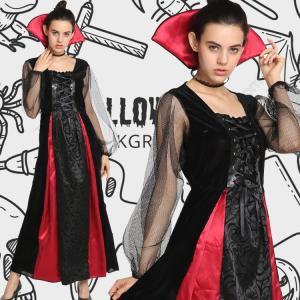 1924f774d3522 魔女 コスプレ ハロウィン 魔女 コスチューム ウィッチ 衣装 巫女 大人用 レディース ロングドレス イベントに活躍 ...