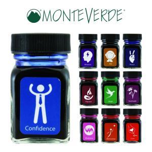万年筆 ミニボトルインク MONTEVERDE モンテベルデ エモーション|pellepenna