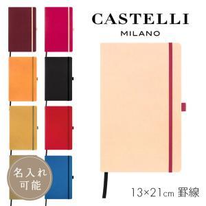 カステリミラノ ノート M 横罫 AQUA CASTELLI MILANO